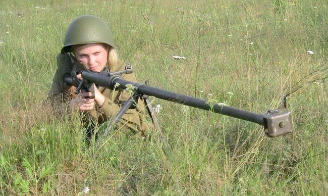 ПТРД протітанкову рушницю Дегтярьова