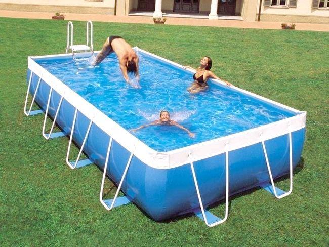 Проводимо літо на дачі: який басейн краще - каркасний або надувний?