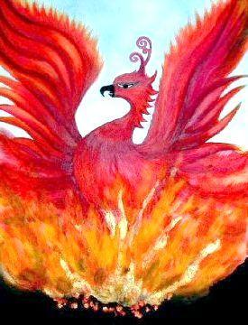 Птах фенікс - символ відродження