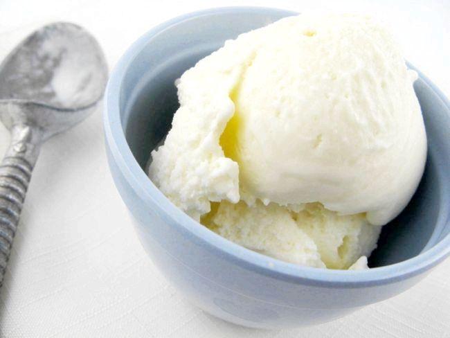 молочне морозиво рецепт