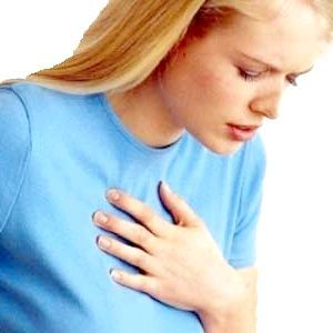 Болить у грудях праворуч