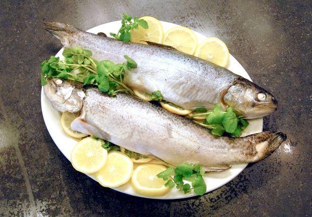 риба у фользі в духовці