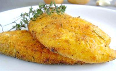 риба в клярі з майонезом