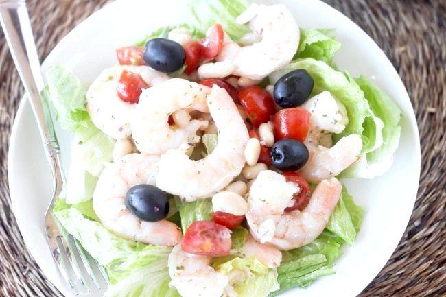 салат з оливками рецепти