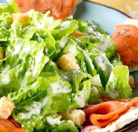 салат помідори червона риба