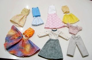 одяг для ляльок Барбі своїми руками