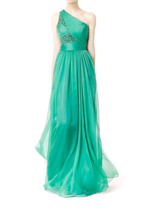 Найчарівніші і модні сукні до підлоги з шифону