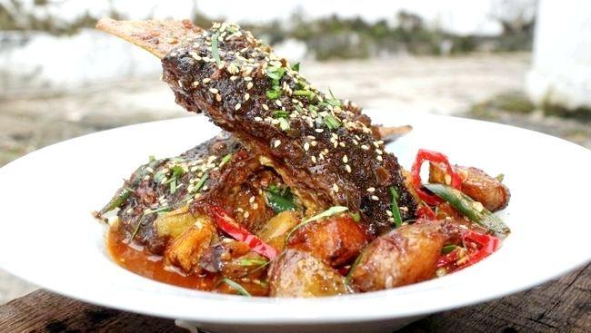 гострі страви з м'яса