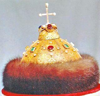 Шапка Мономаха - царський вінець xvi-xvii століття