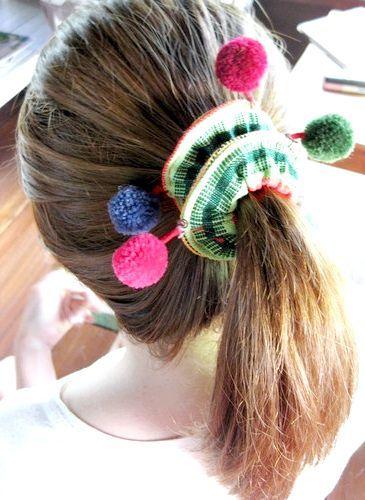 зачіски з гумкою для волосся