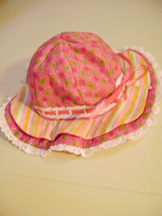 Як зшити капелюшок для дівчинки
