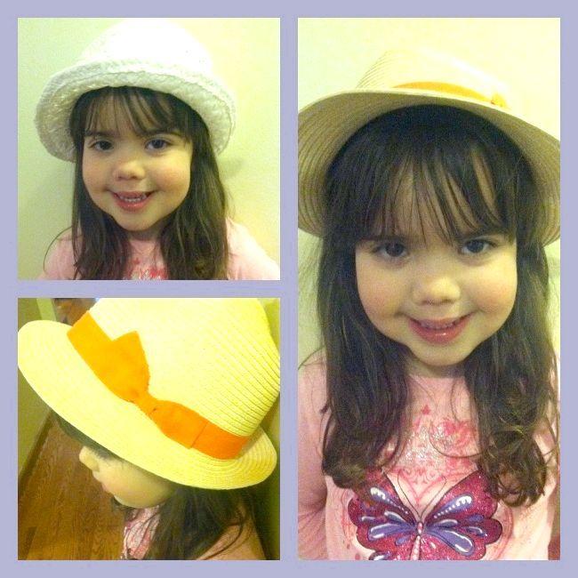 Літні капелюшки для дівчаток