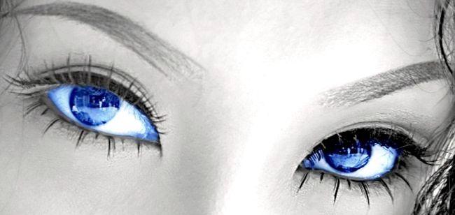 Сині очі. Характер їх володарів