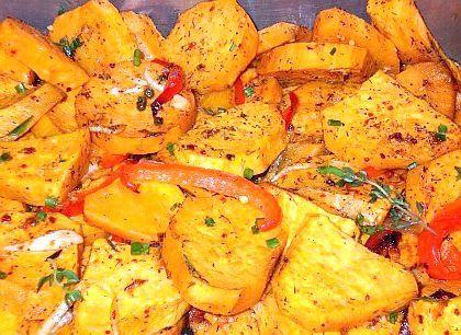 солодка картопля рецепт
