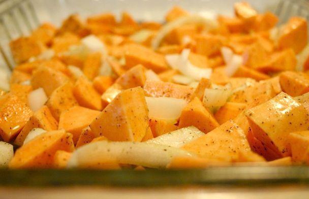 страви з солодкої картоплі