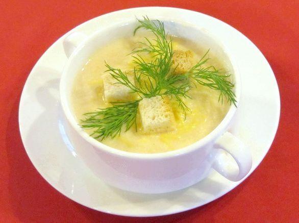 Вершковий суп з лососем калорійність