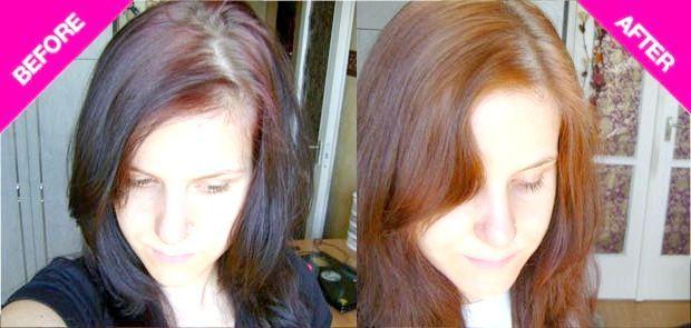 смивка для волосся
