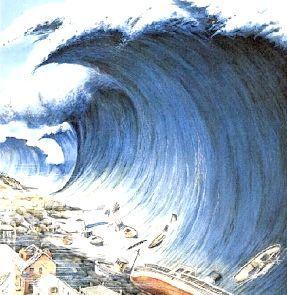 Сонник цунамі хвиля