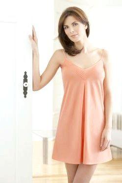 Жіноча шовкова нічна сорочка