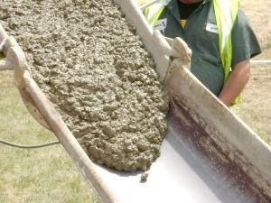 Склад і пропорції бетону для фундаменту