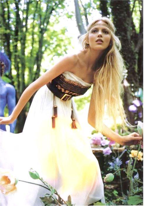 Плаття в стилі хіпі
