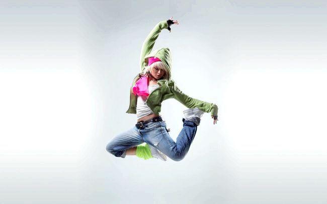 танці стрип пластика