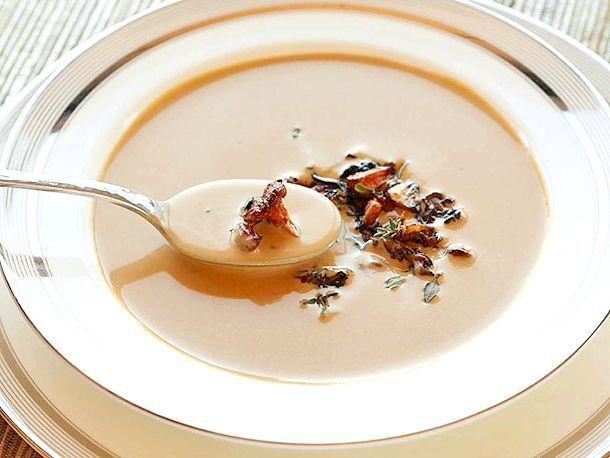Суп пюре з лисичок