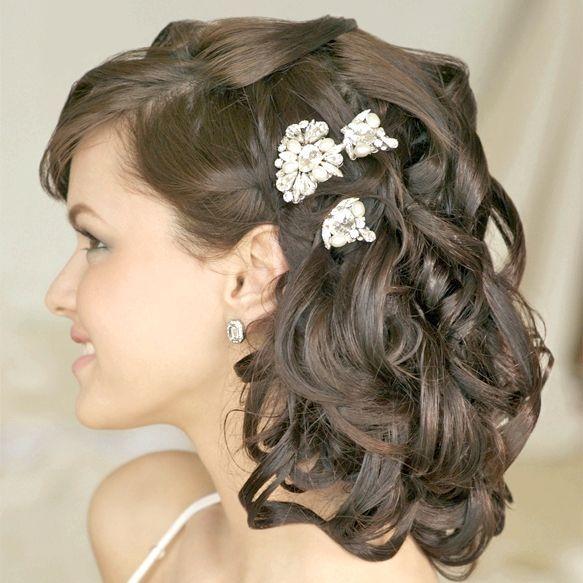 зачіска на середні волосся фото