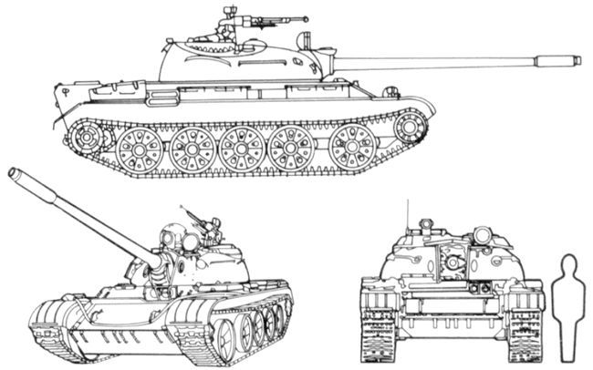Т-54 - танк холодної Війни