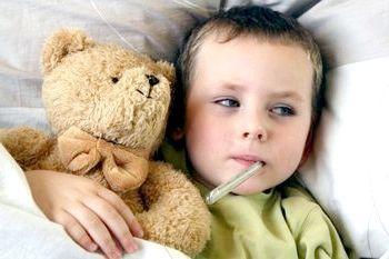 пронос і температура у дитини