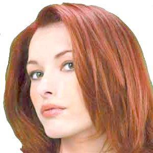 теракотовий колір волосся