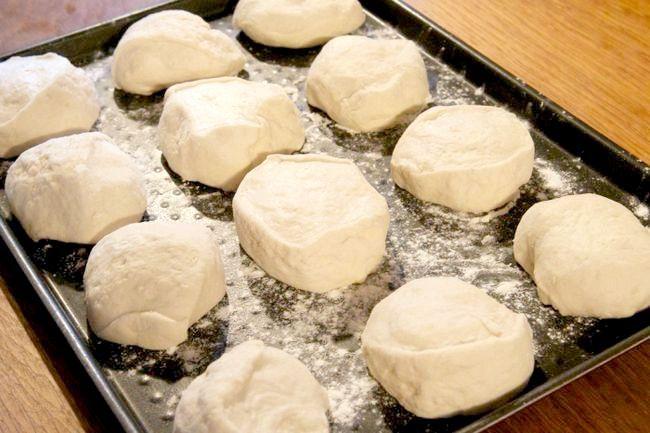 листкове тісто булочки