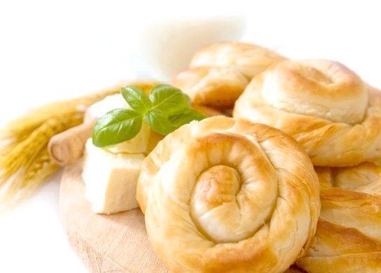 булочки з листкового тіста