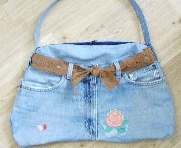 Що можна зробити зі старих джинсів