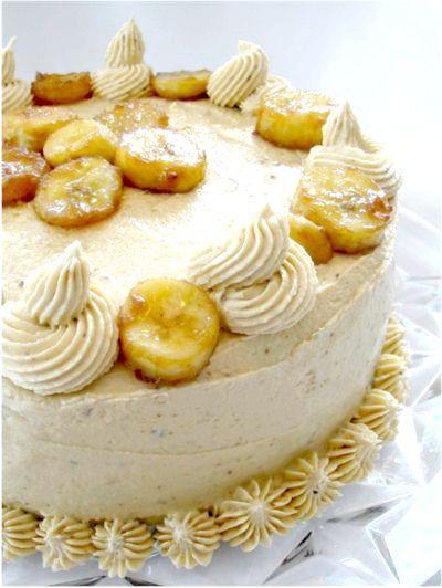 торт з пряників з бананами