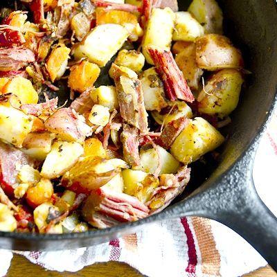 тушкована капуста з картоплею та м'ясом рецепт