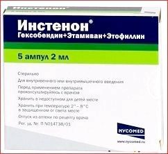 Уколи і таблетки «инстенон»: інструкція по застосуванню