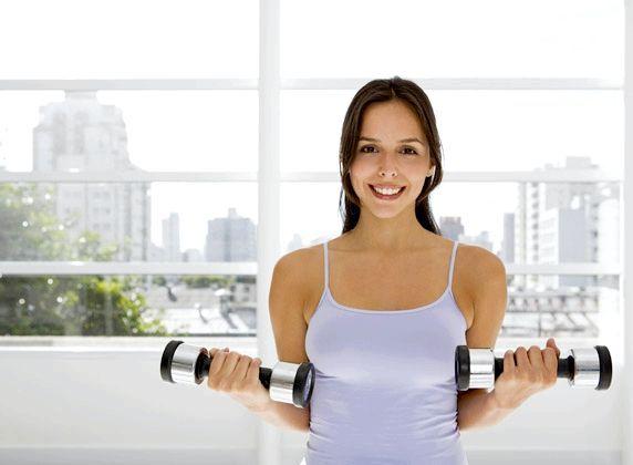 вправи для грудних м'язів для жінок