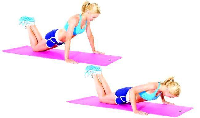вправи для грудних м'язів для жінок в домашніх умовах