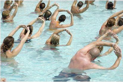 комплекс вправ в басейні