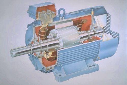 пристрій асинхронного двигуна