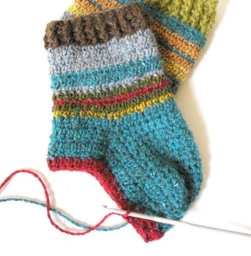 шкарпетки гачком