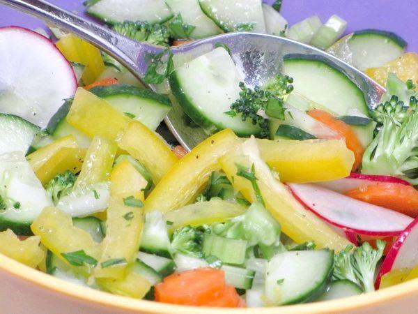 Салати на пісний стіл
