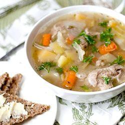 суп з баранини з картоплею