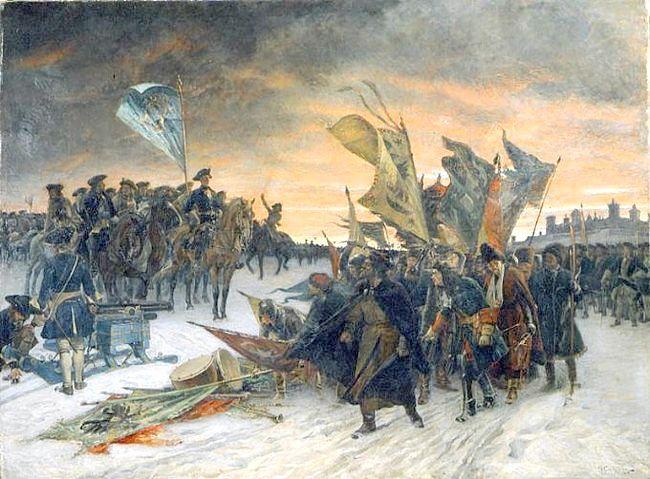 росія в 18 столітті стисло