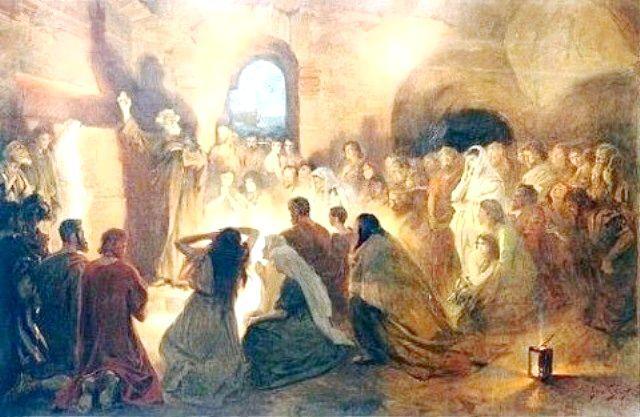 Час виникнення християнства
