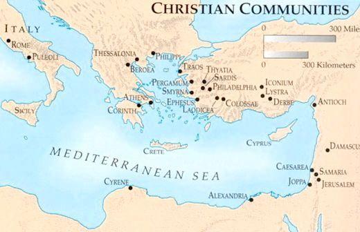 Історія виникнення християнства