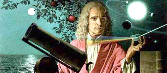 закон всесвітнього тяжіння Ньютона