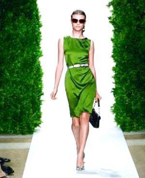 зелене плаття